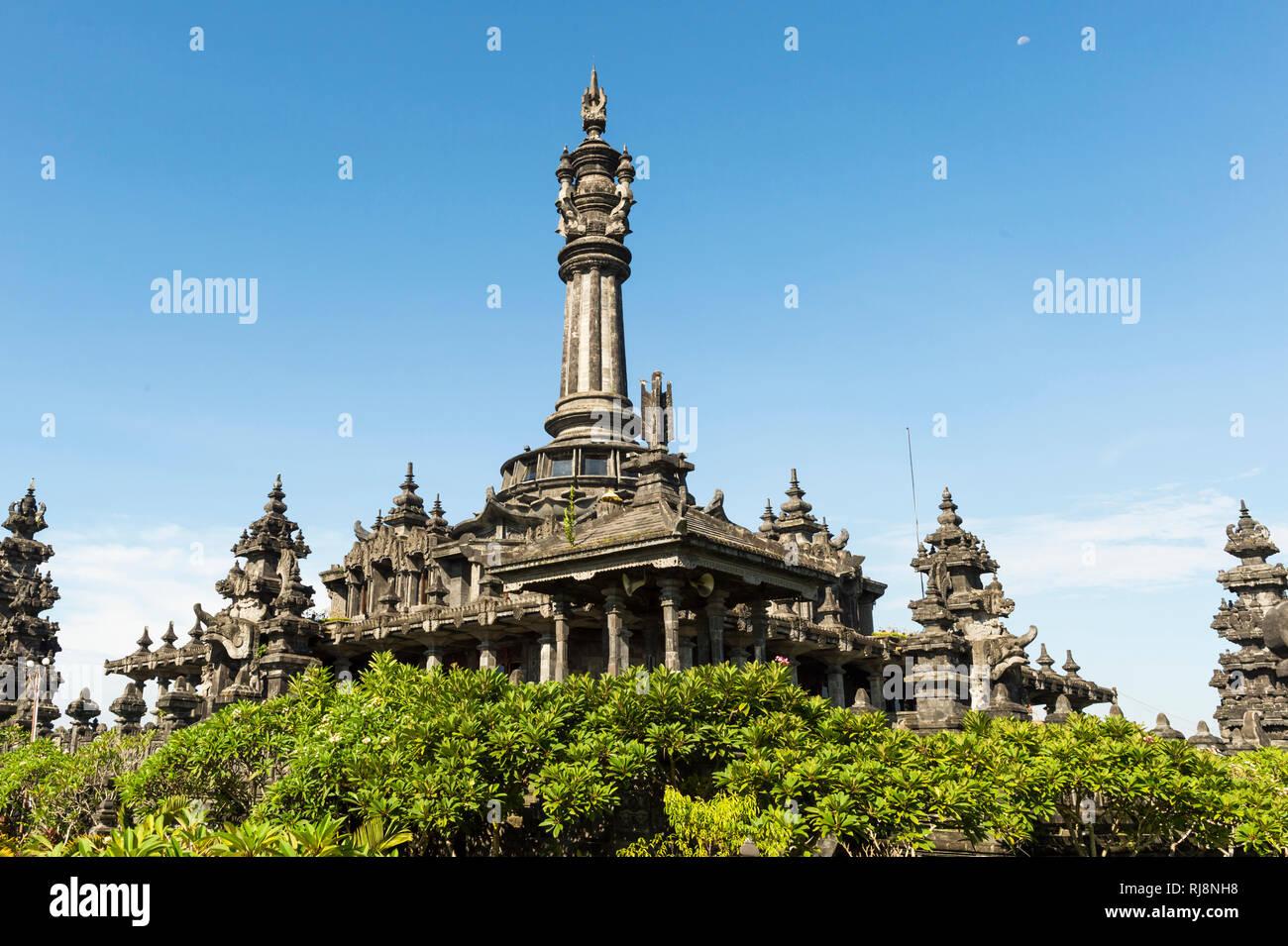 Denpasar, das Bajra Sandhi Monument - Stock Image