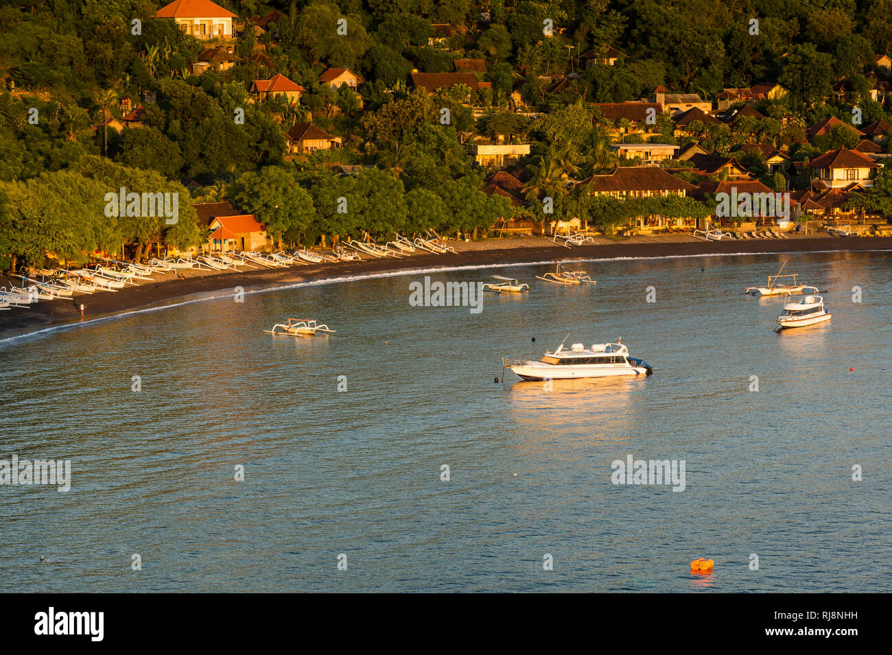 Bucht bei Amed - Stock Image
