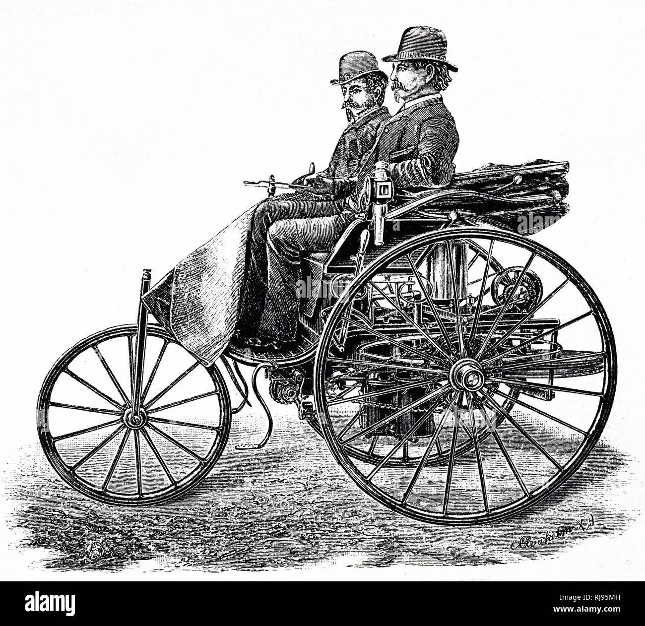 Who Invented The Automobile: Karl Benz Car Stock Photos & Karl Benz Car Stock Images