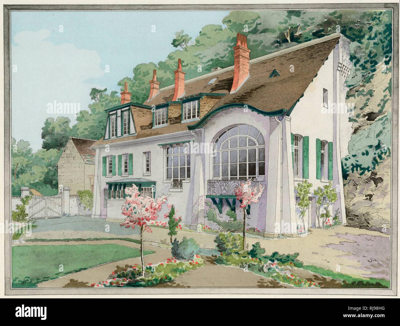 A french maison de campagne country house at lavardin loir et cher architect albert polart