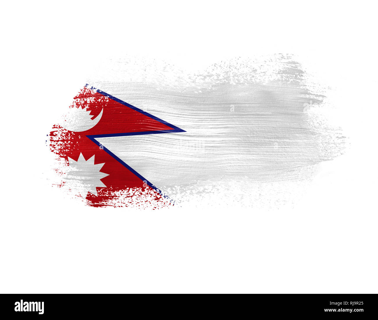 Nepal Flag Cut Out Stock Images & Pictures - Alamy