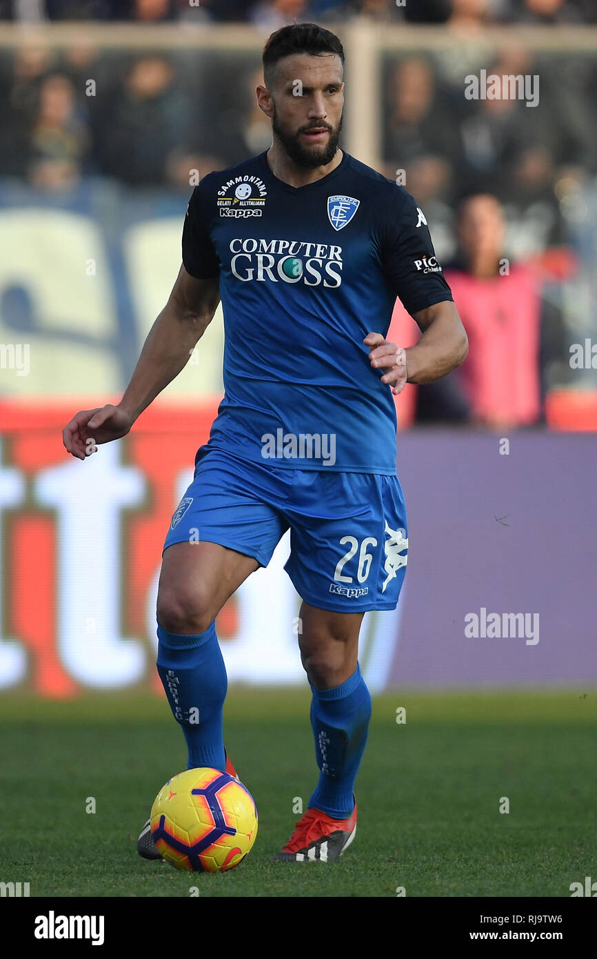 Matias Silvestre of Empoli in action during the Serie A 2018/2019 football  match between Empoli and Internazionale at stadio Castellani, Empoli, Decem  Stock Photo - Alamy