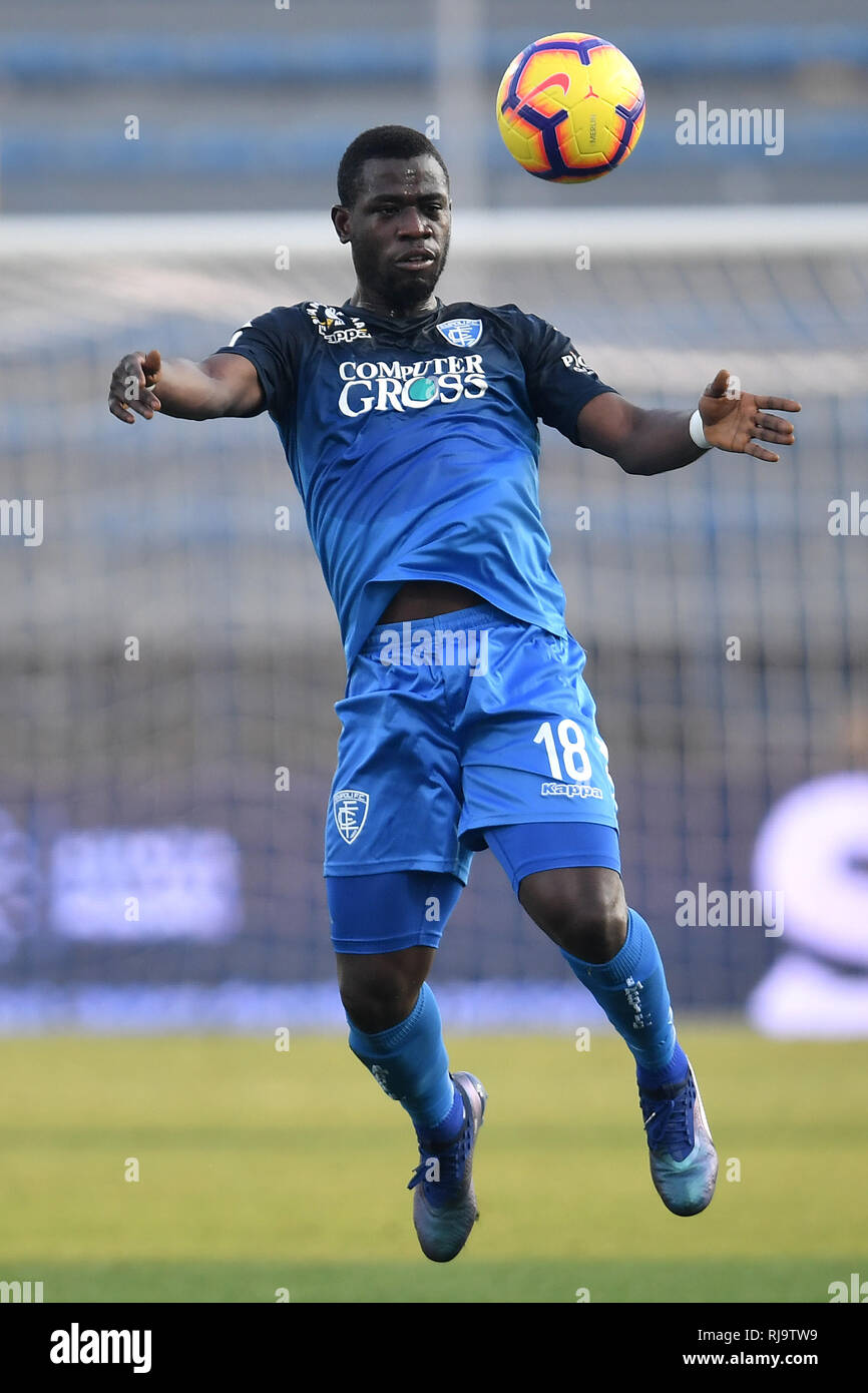Afriyie Acquah of Empoli in action during the Serie A 2018/2019 football  match between Empoli and Internazionale at stadio Castellani, Empoli,  Decembe Stock Photo - Alamy