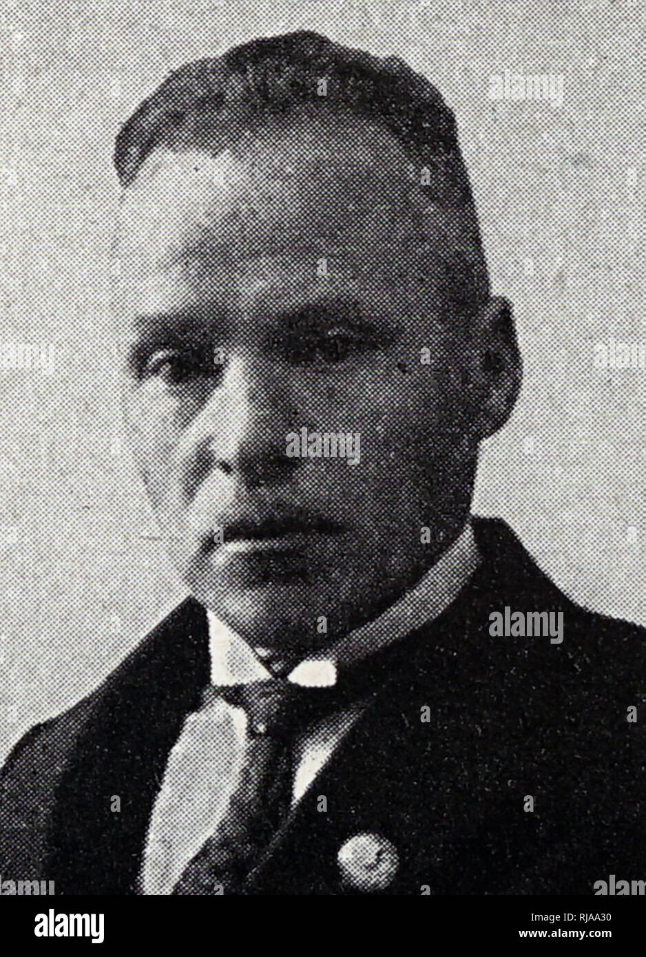 A. kampmann, Athletics Official, German Olympic sports official 1936 Nazi Games in Berlin - Stock Image