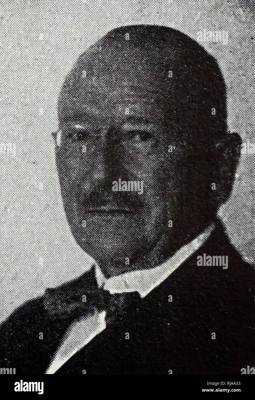 Erckrath de bary, Olympic games athletics official, Berlin 1936 - Stock Image