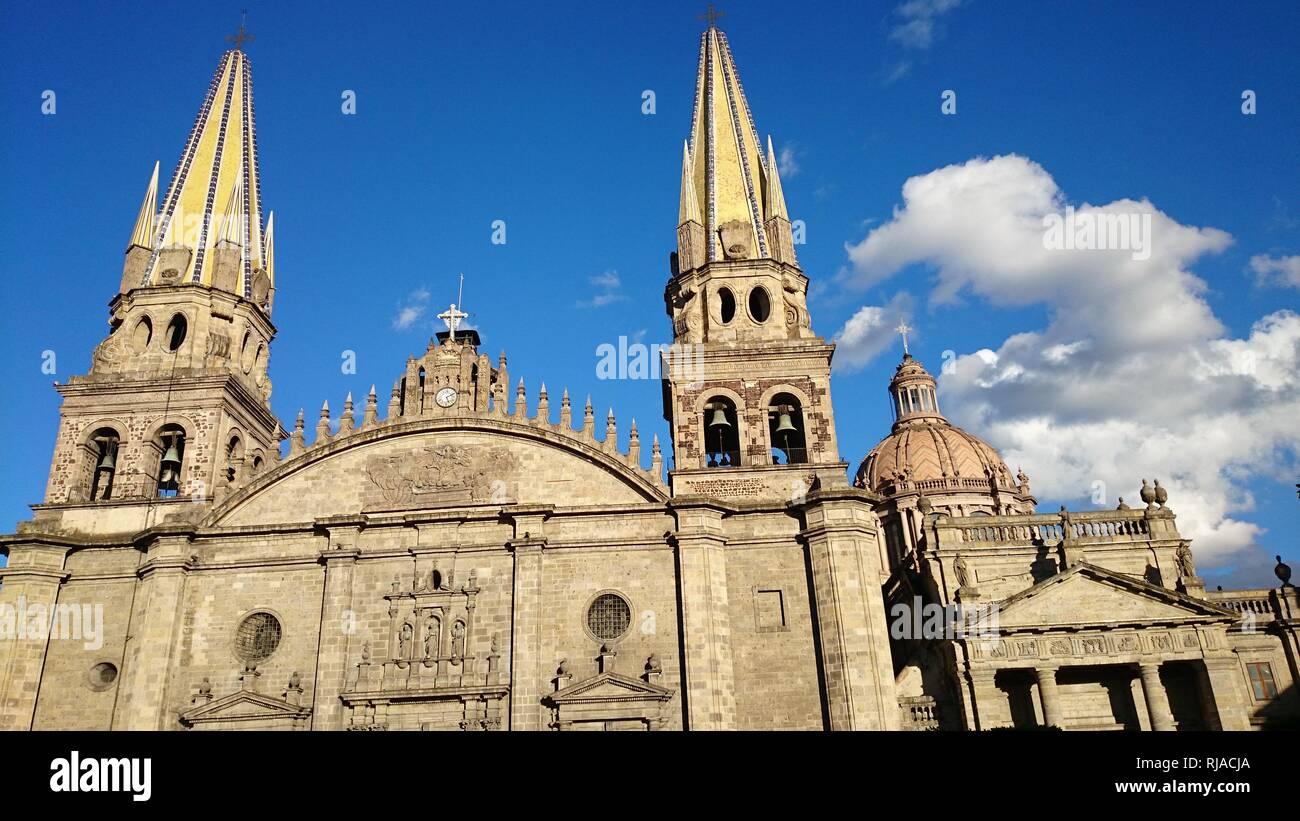 Catedral de Guadalajara - Stock Image
