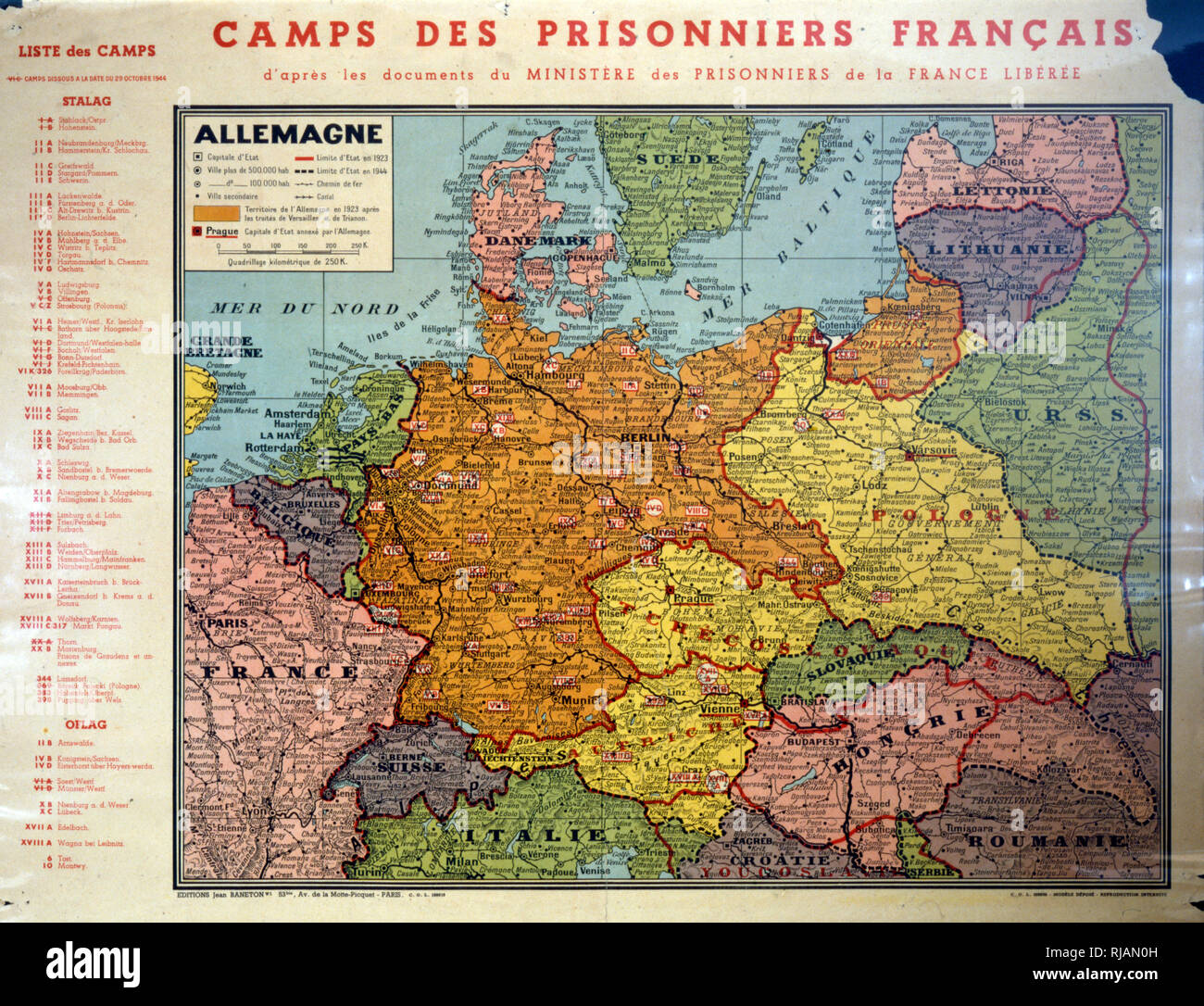 Germany Map War Stock s & Germany Map War Stock Alamy