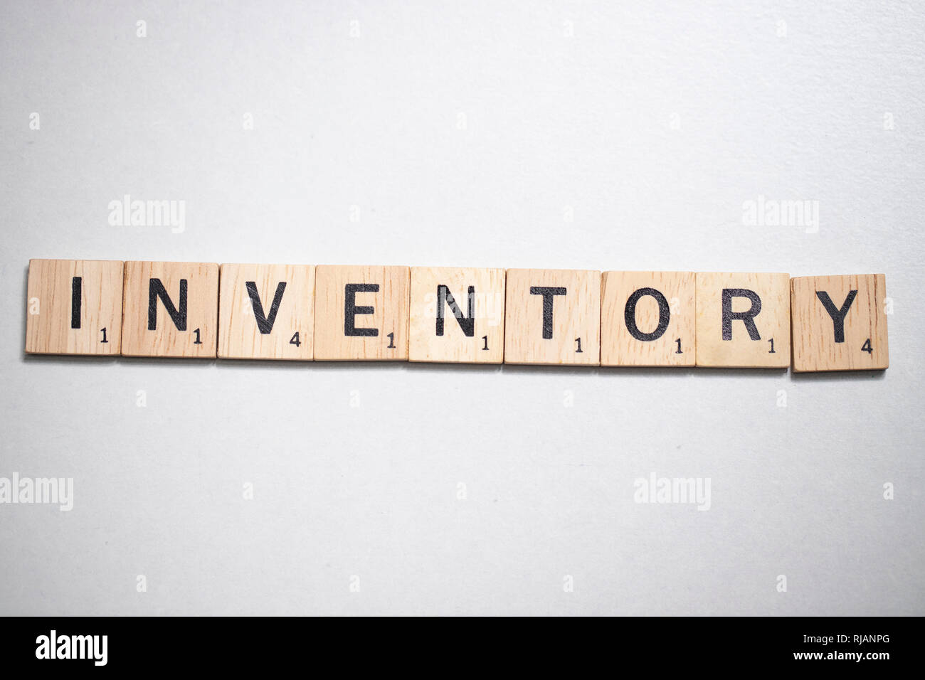 Bangkok, Thailand, February 05, 2019 – Scrabble letter in Business Concept - Stock Image