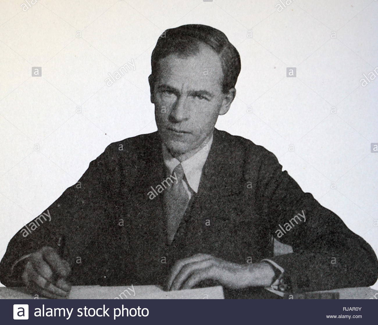 George Douglas Howard Cole (25 September 1889 - 14 January 1959) was an English political theorist, economist, writer and historian. As a libertarian socialist he was a long-time member of the Fabian Society and an advocate for the co-operative movement. - Stock Image