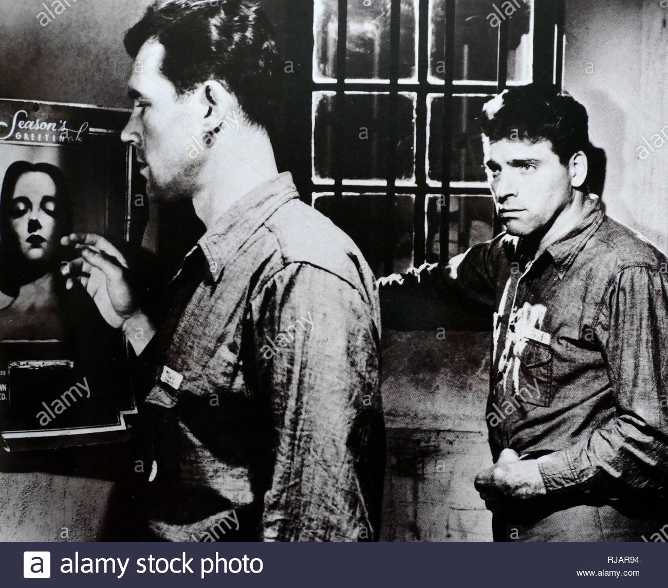 Birdman of Alcatraz is a 1962 biographical drama film starring Burt Lancaster and directed by John Frankenheimer. Robert Franklin Stroud (1890 - 1963), known as the 'Birdman of Alcatraz', was an American federal prisoner who became a respected ornithologist. Burt Lancaster (1913 - 1994) was an American film actor. - Stock Image