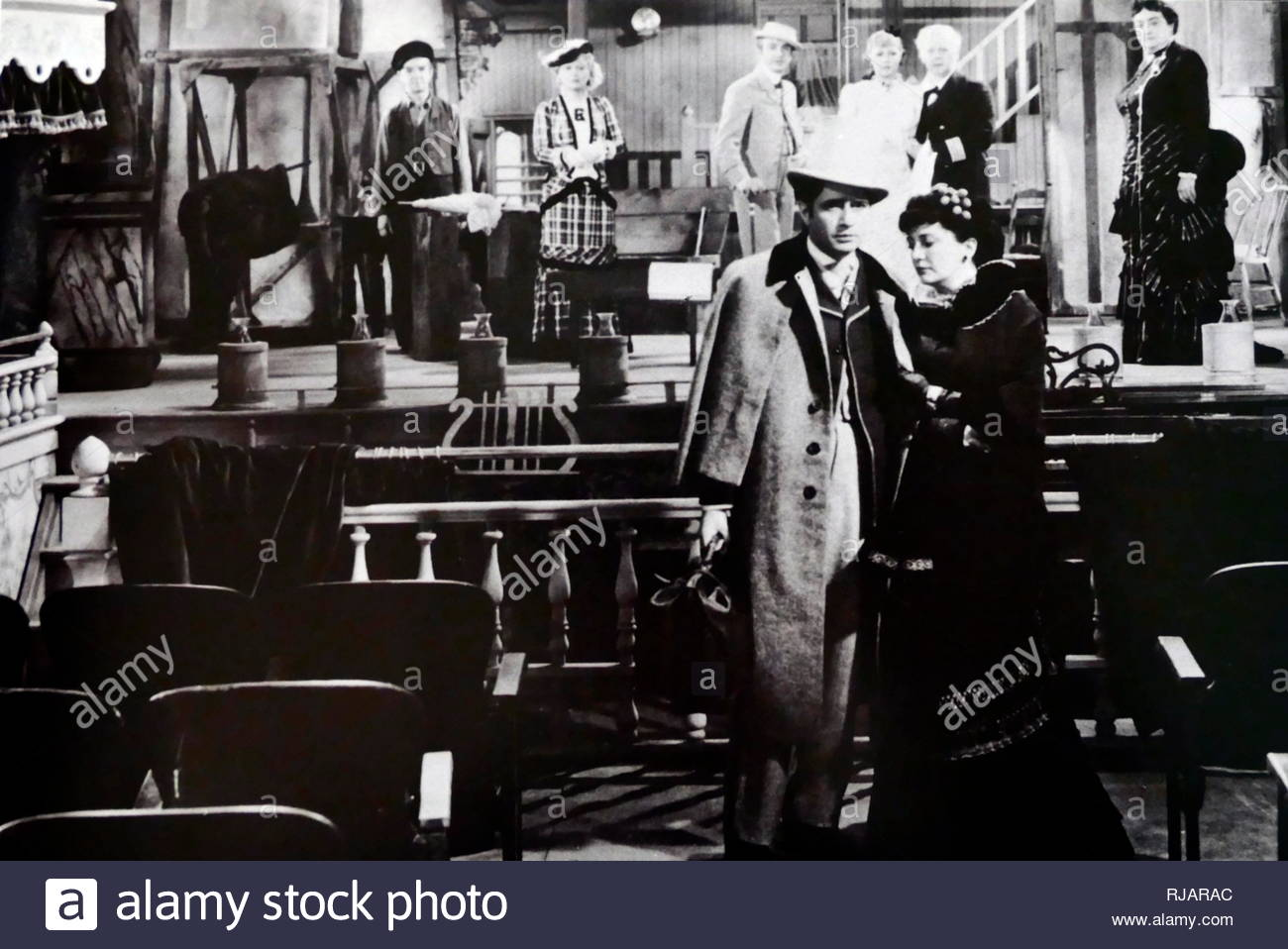 Show Boat is a 1936 romantic musical film directed by James Whale, based on the musical of the same name by Jerome Kern and Oscar Hammerstein II, which in turn was adapted from the novel of the same name by Edna Ferber. - Stock Image