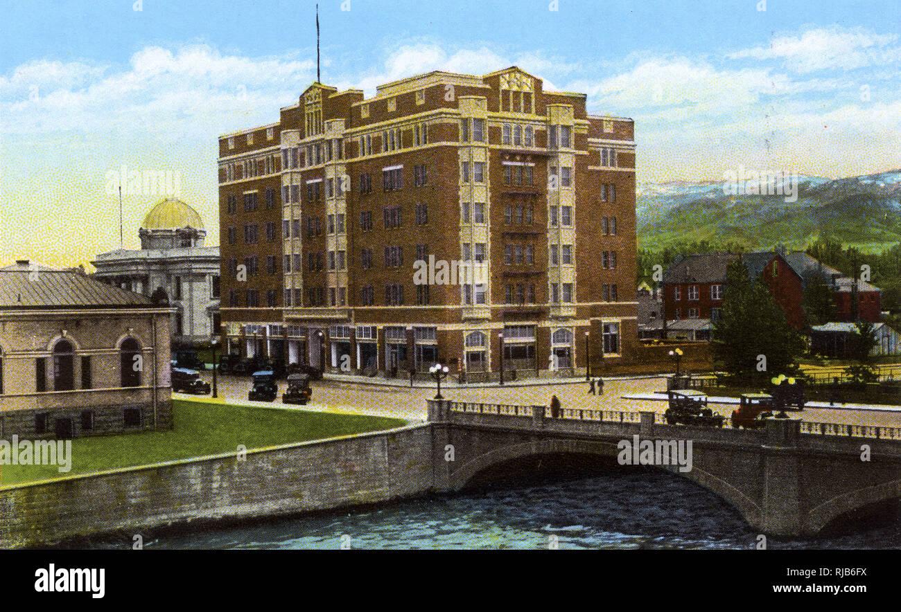 Reno, Nevada, USA - New Riverside Hotel Stock Photo
