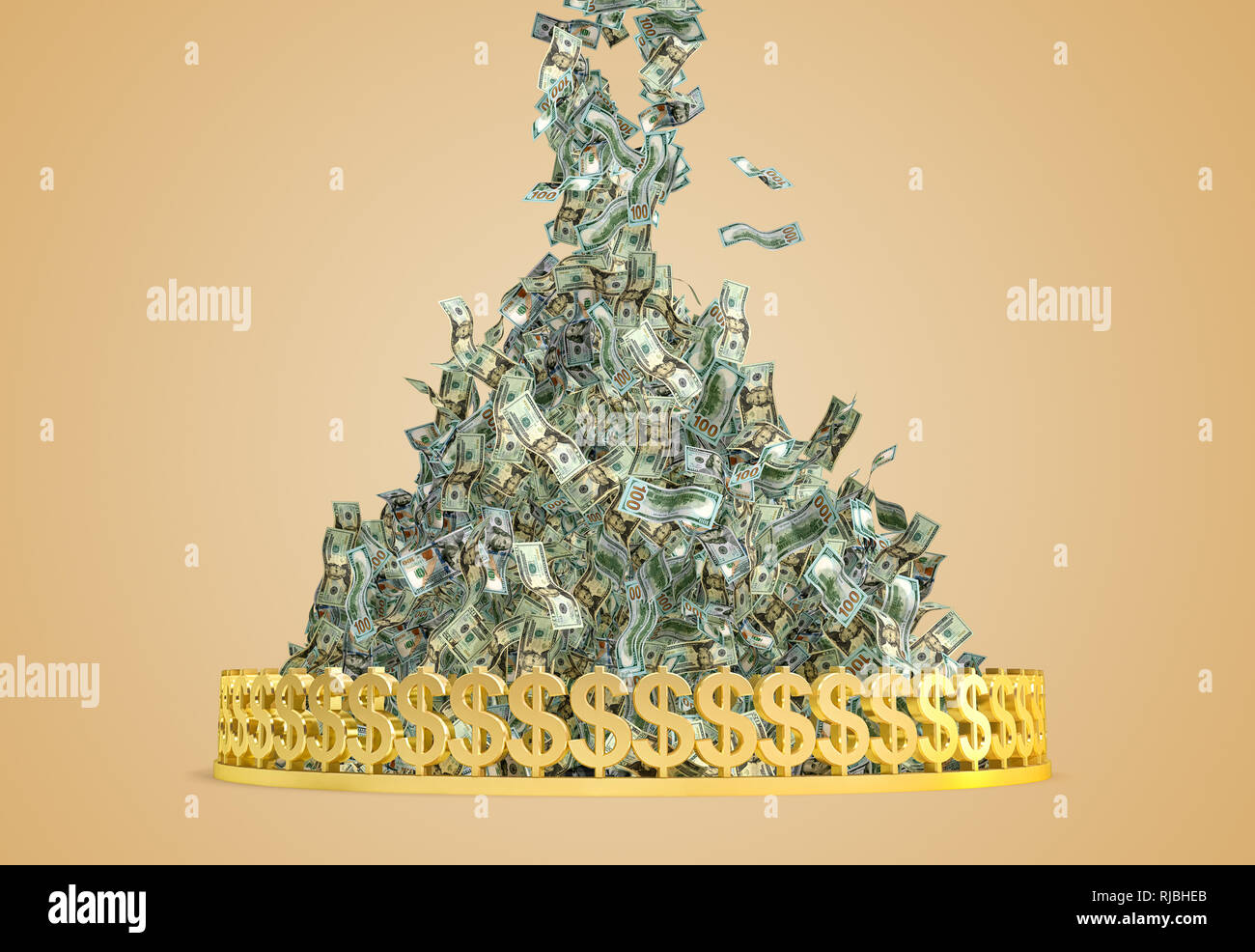 Money Raining Stock Photos Money Raining Stock Images Alamy