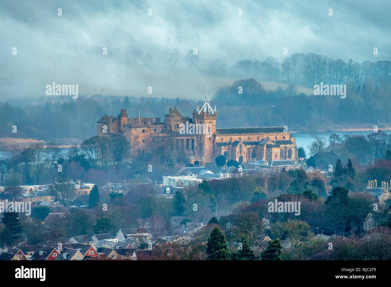 Linlithgow Palace, Linlithgow, West Lothian, Scotland. Stock Photo