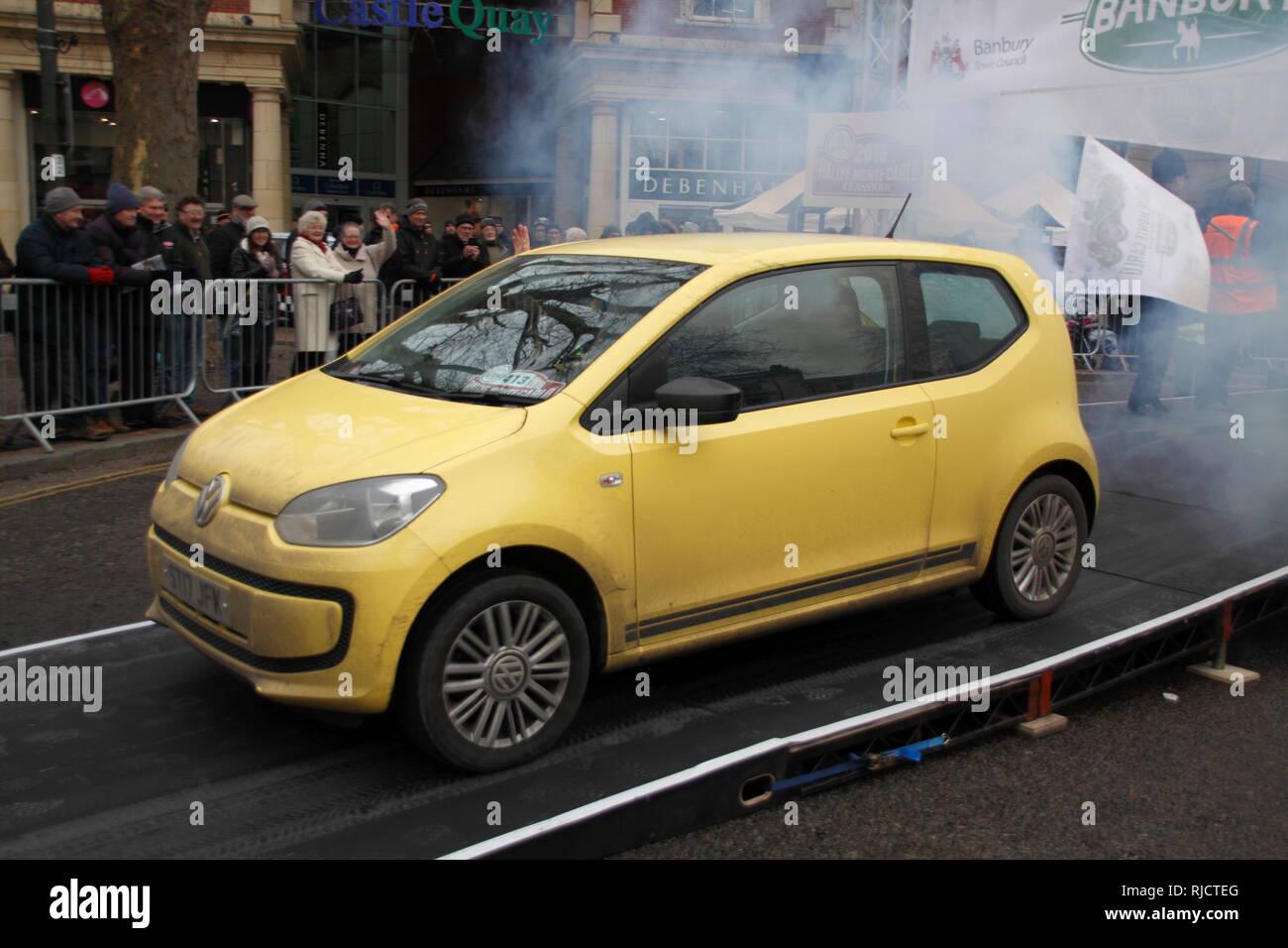 Monte-Carlo Rally Banbury 2019 Stock Photo