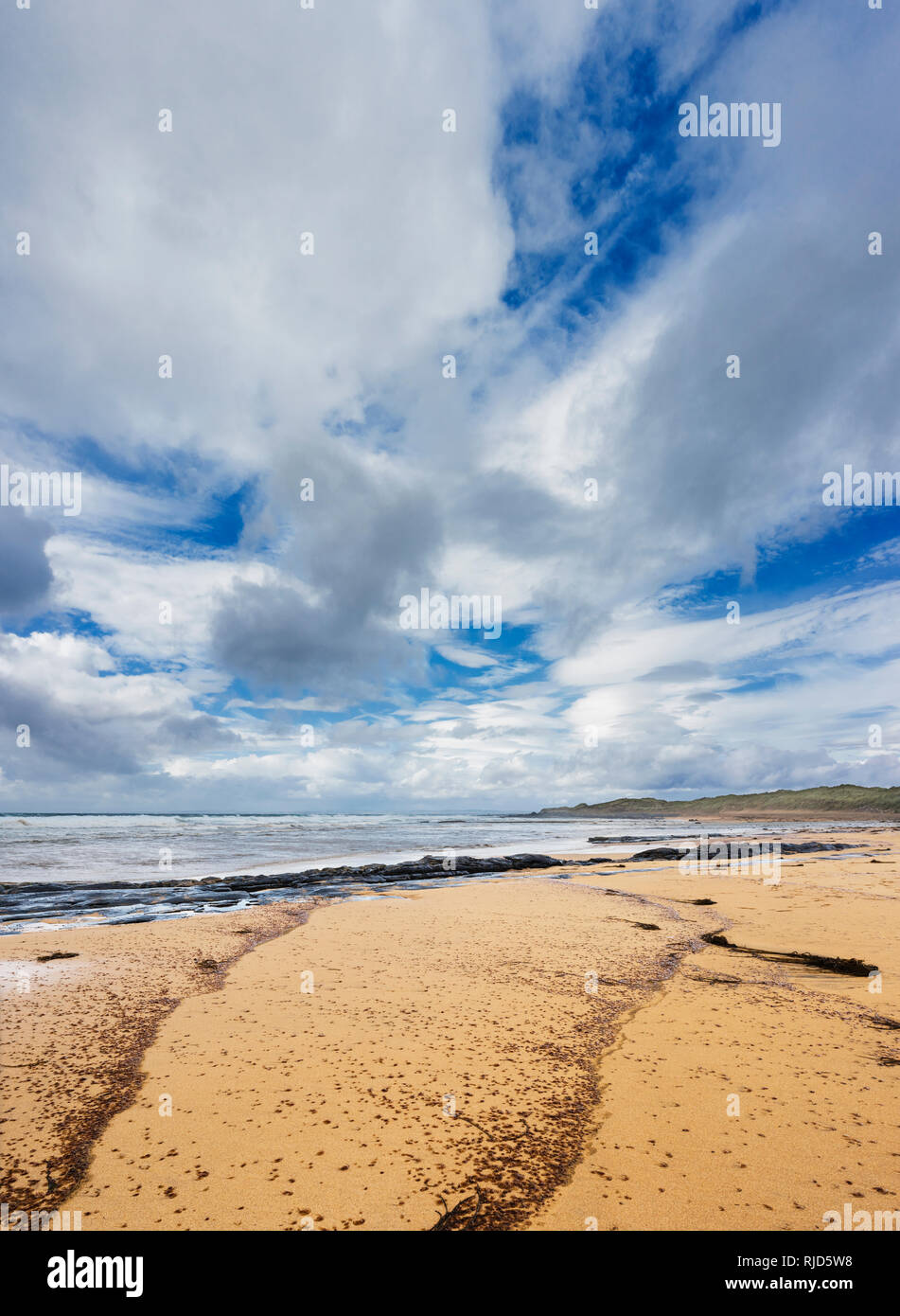 Fanore Beach, The Burren, Co Clare, Ireland Stock Photo
