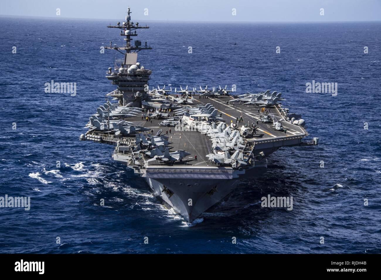 Uss Nimitz Deployment Schedule 2019 PACIFIC OCEAN (Jan. 19, 2018) The Nimitz class aircraft carrier