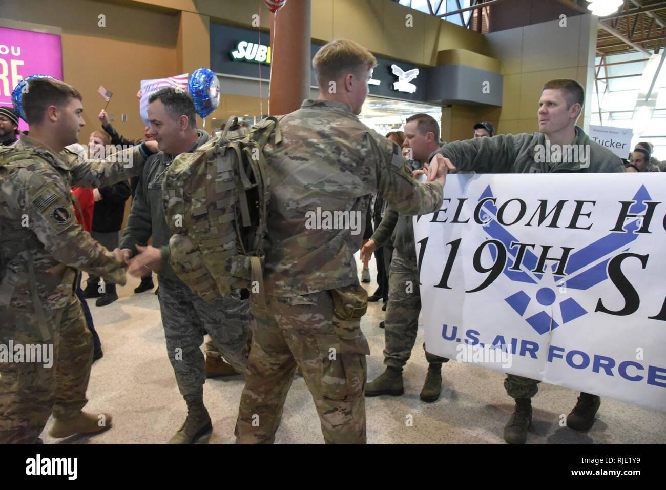 U S  Air Force 1st Lt  Jason Augdahl, the 119th Security