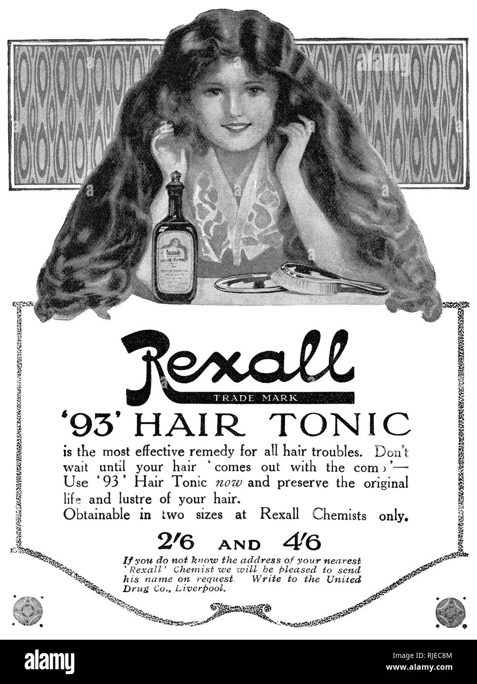 1920s Advertising Archive Stock Photos & 1920s Advertising