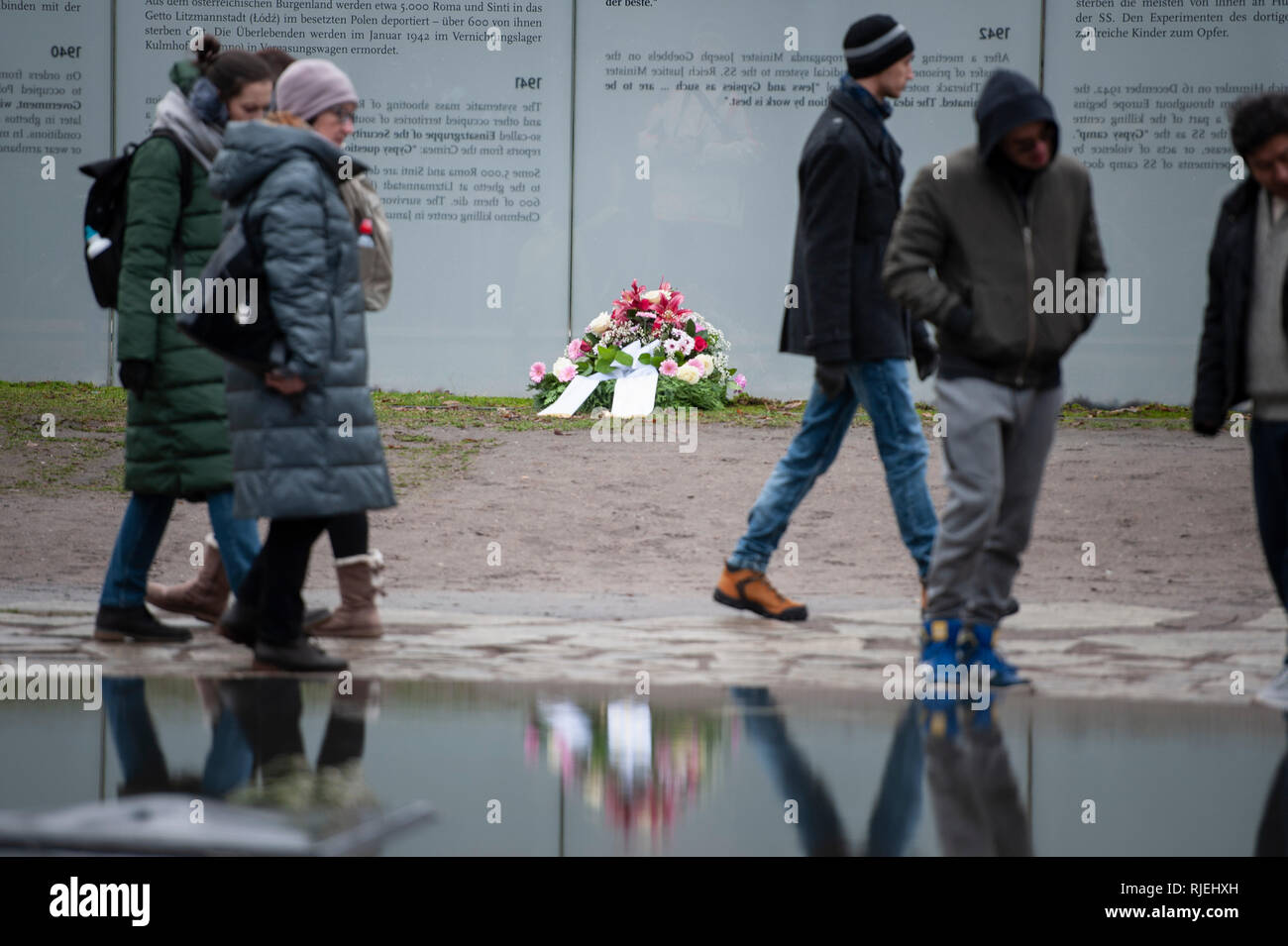 Berlin, Germany. 27th January 2019. Today marks the International Holocaust Remembrance Day, an annual day of commemoration developed to help prevent  - Stock Image
