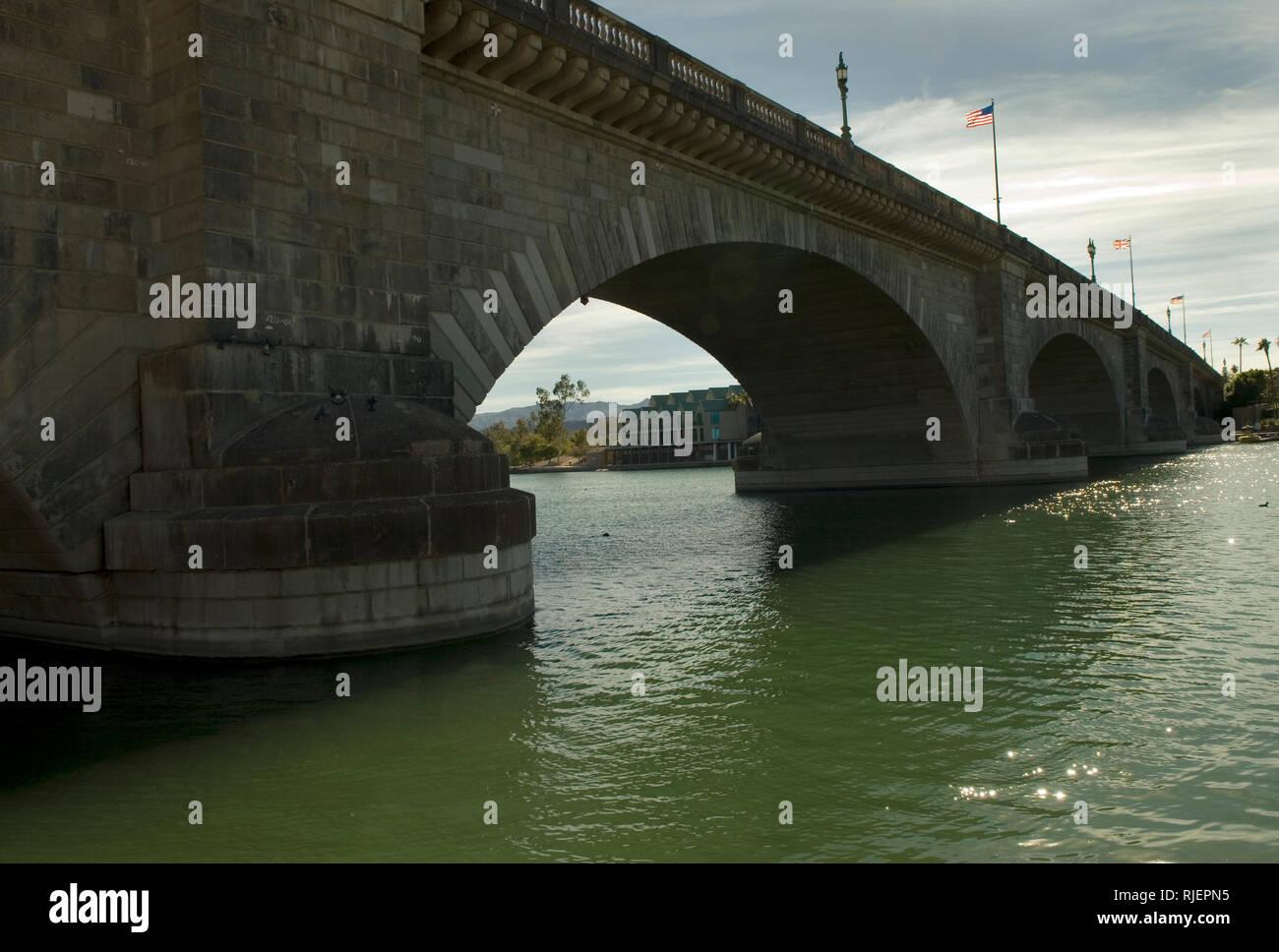 London Bridge Arizona USA - Stock Image