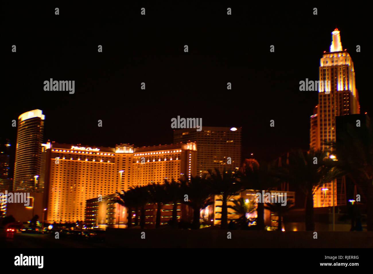 Las Vegas, Nevada, USA - May 26, 2014: CityCenter Las Vegas Stock Photo
