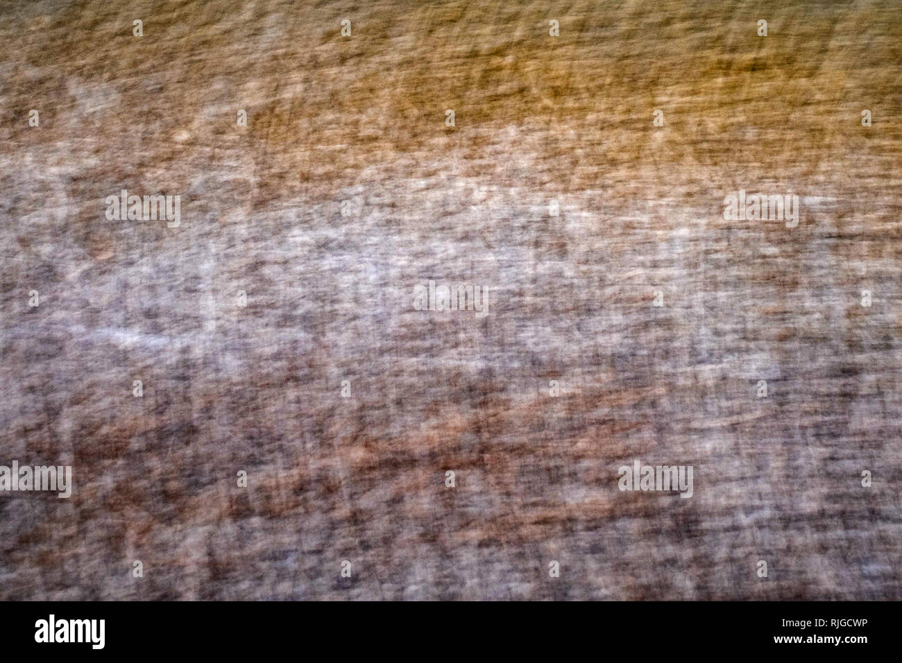 texture hatched ocher white brown - Stock Image