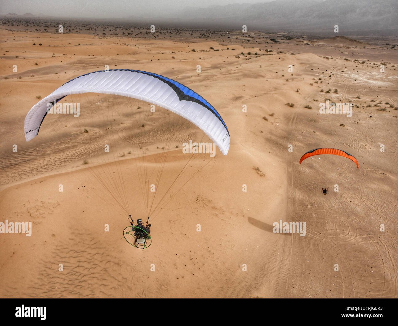 Fresh Breeze Paramotor Stock Photos & Fresh Breeze Paramotor Stock