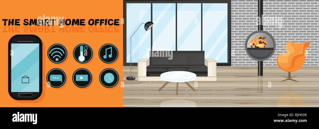 Smart Design interior Vector flat style. Utilities icons ...