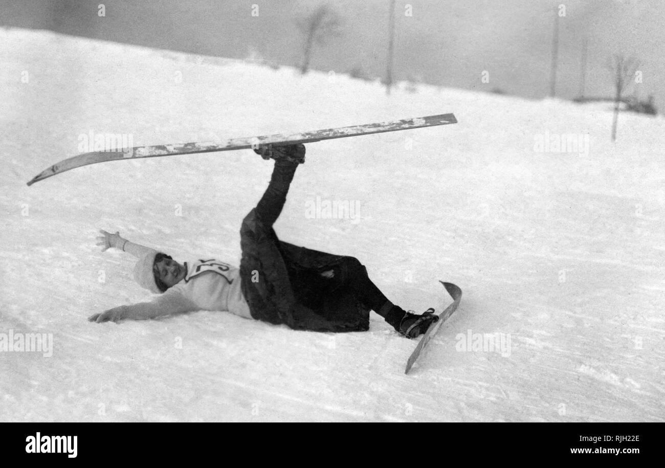 sport, ski - Stock Image