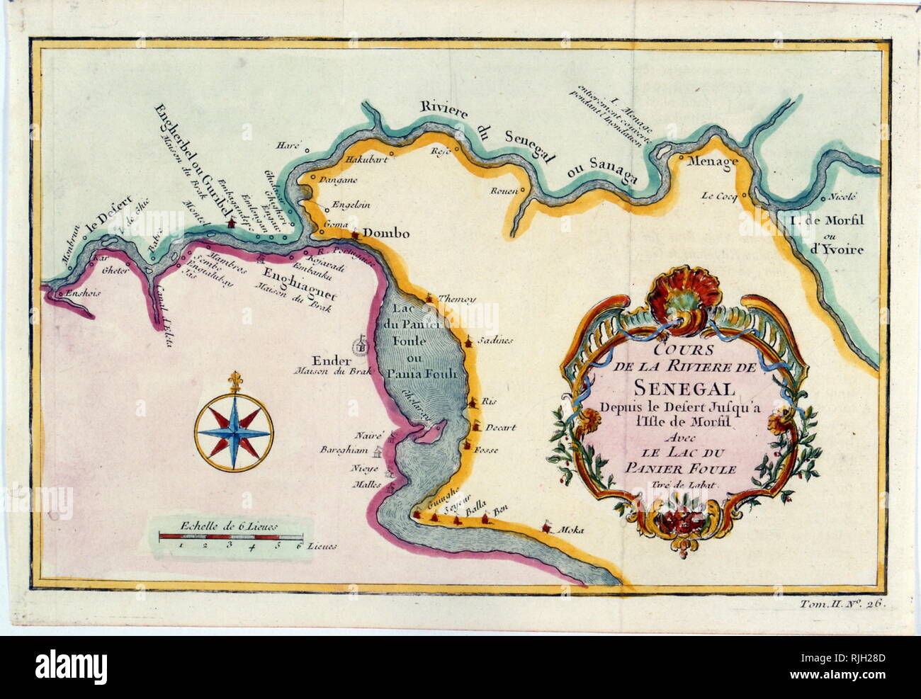 Map Of Yvoire France.French Map Of The West Stock Photos French Map Of The West Stock