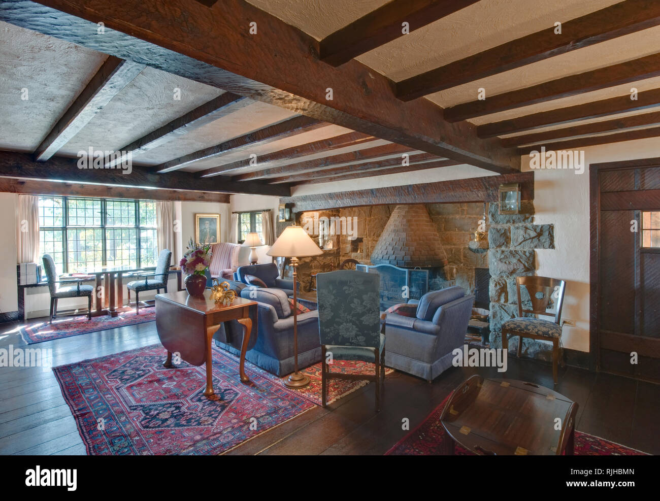 Hastings House Lounge - Stock Image