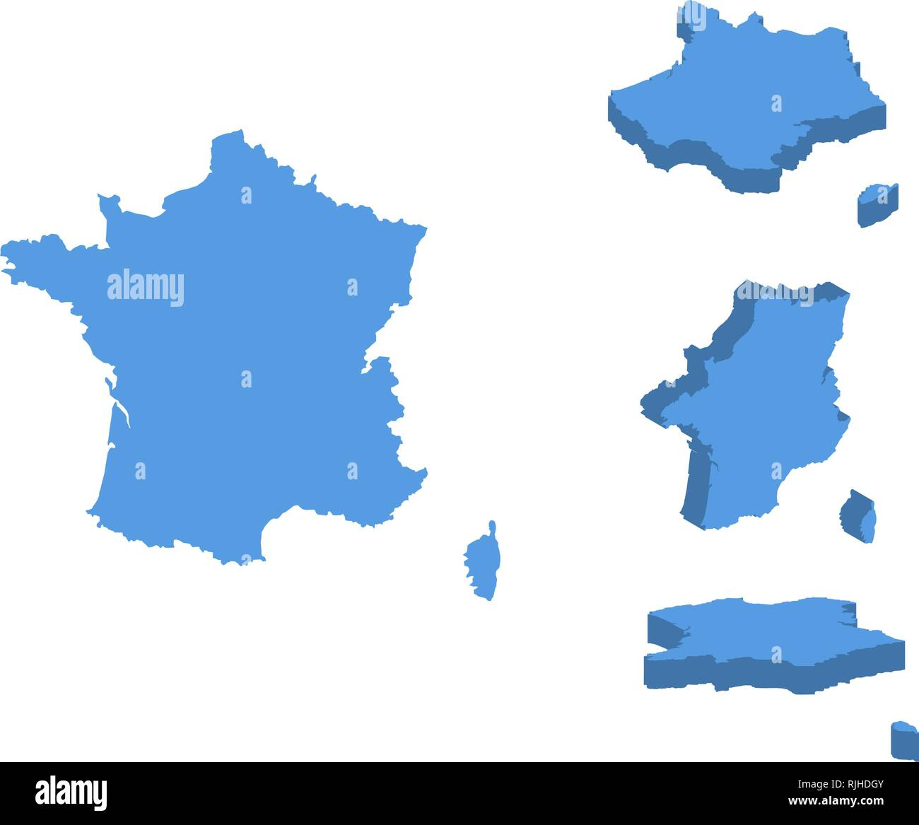 Capital Of France Map.France Political Map Capital Paris Stock Photos France Political