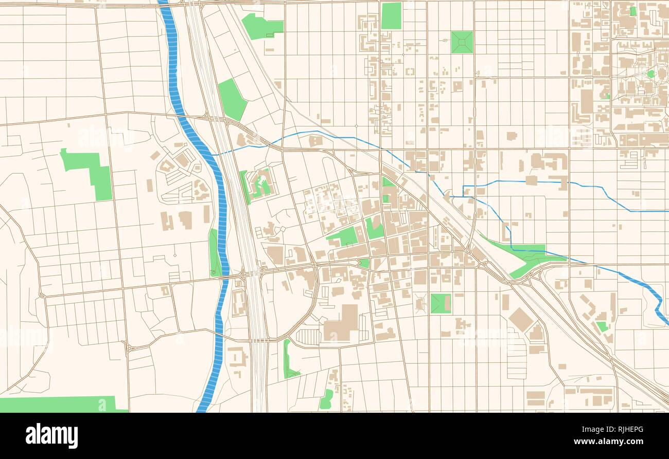 picture regarding Printable Map of Tucson Az referred to as Tucson Arizona printable map excerpt. This vector streetmap