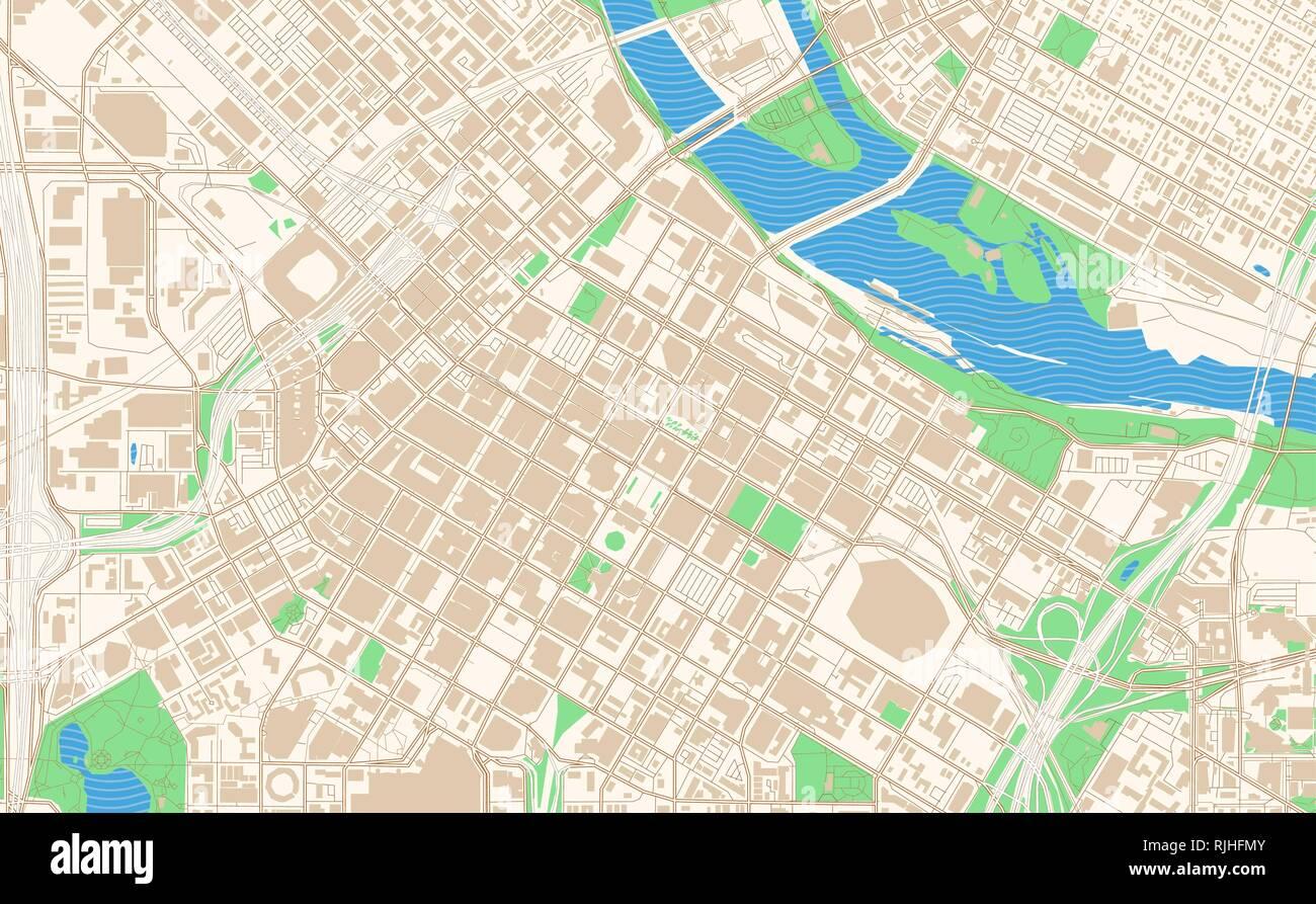 image regarding Printable Map of Minnesota titled Minneapolis Minnesota printable map excerpt. This vector