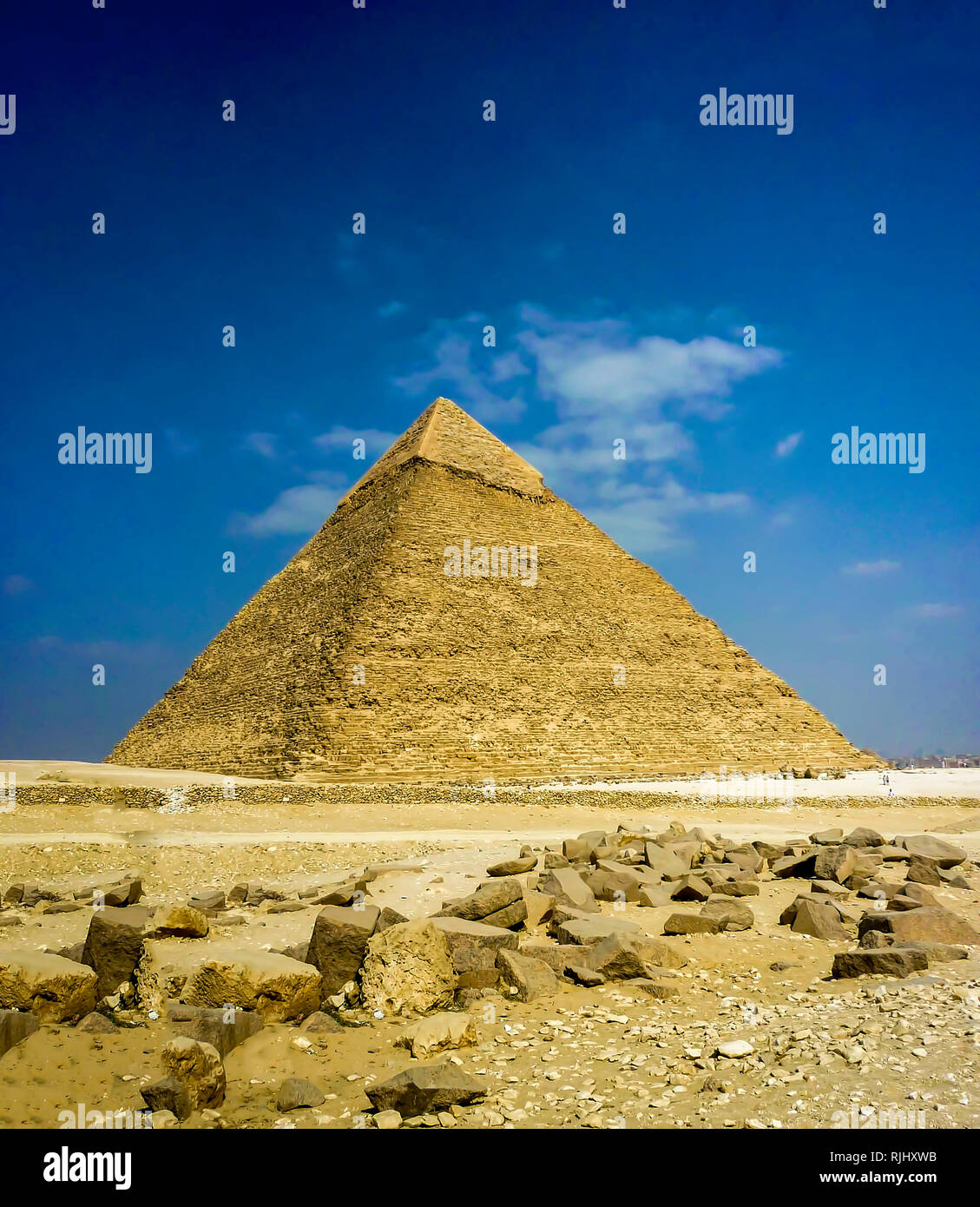 Pyramid of Khafre   Great Pyramid of Giza Great Sphinx of