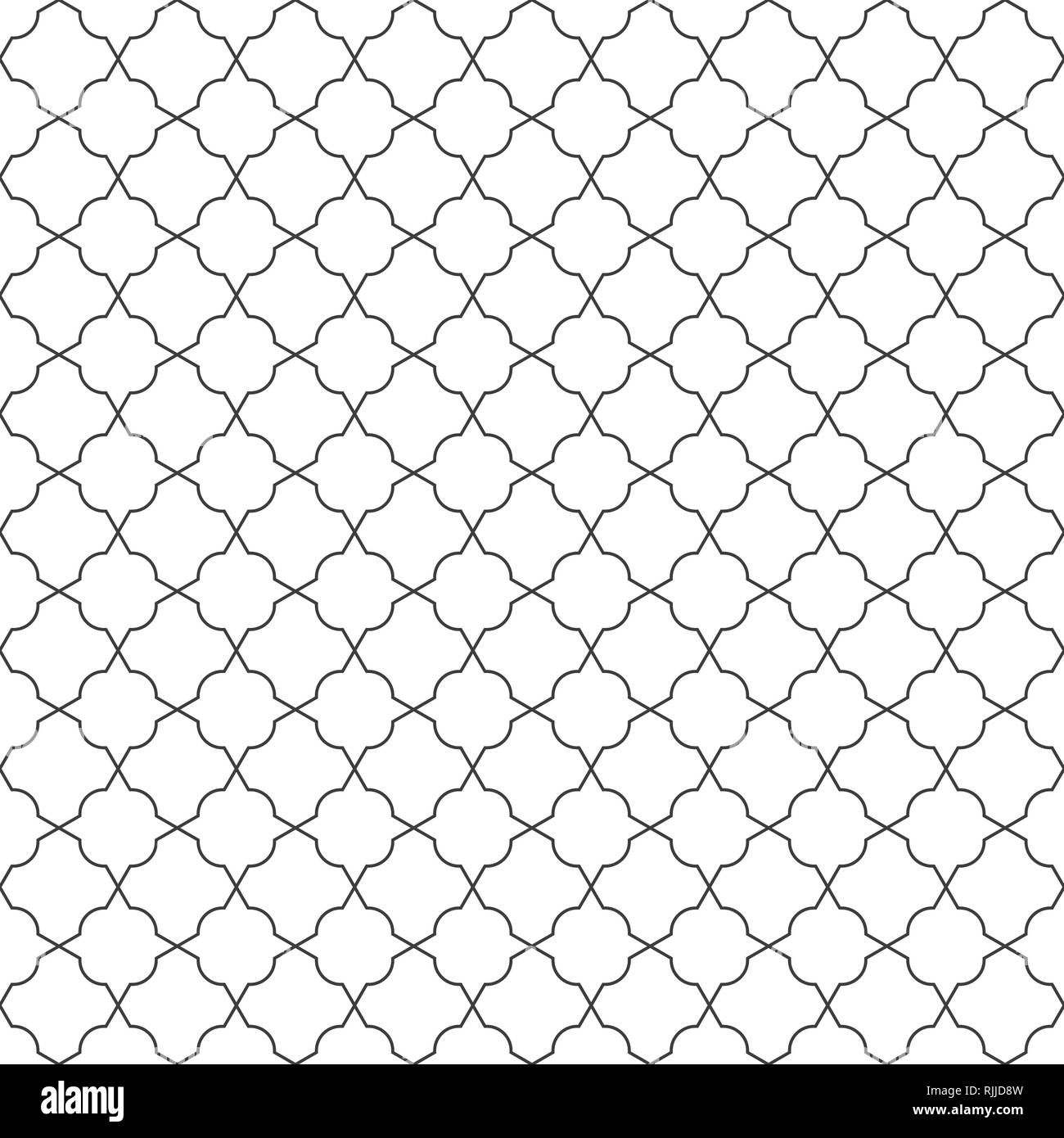 Abstract seamless geometric line pattern background  vector eps10
