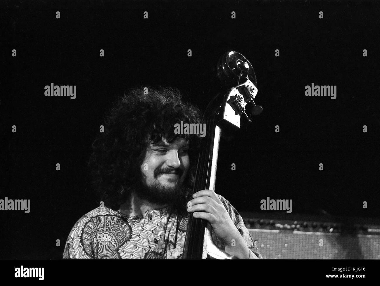 Léon Francioli in Concert in Chateauvallon, 1972 - Stock Image