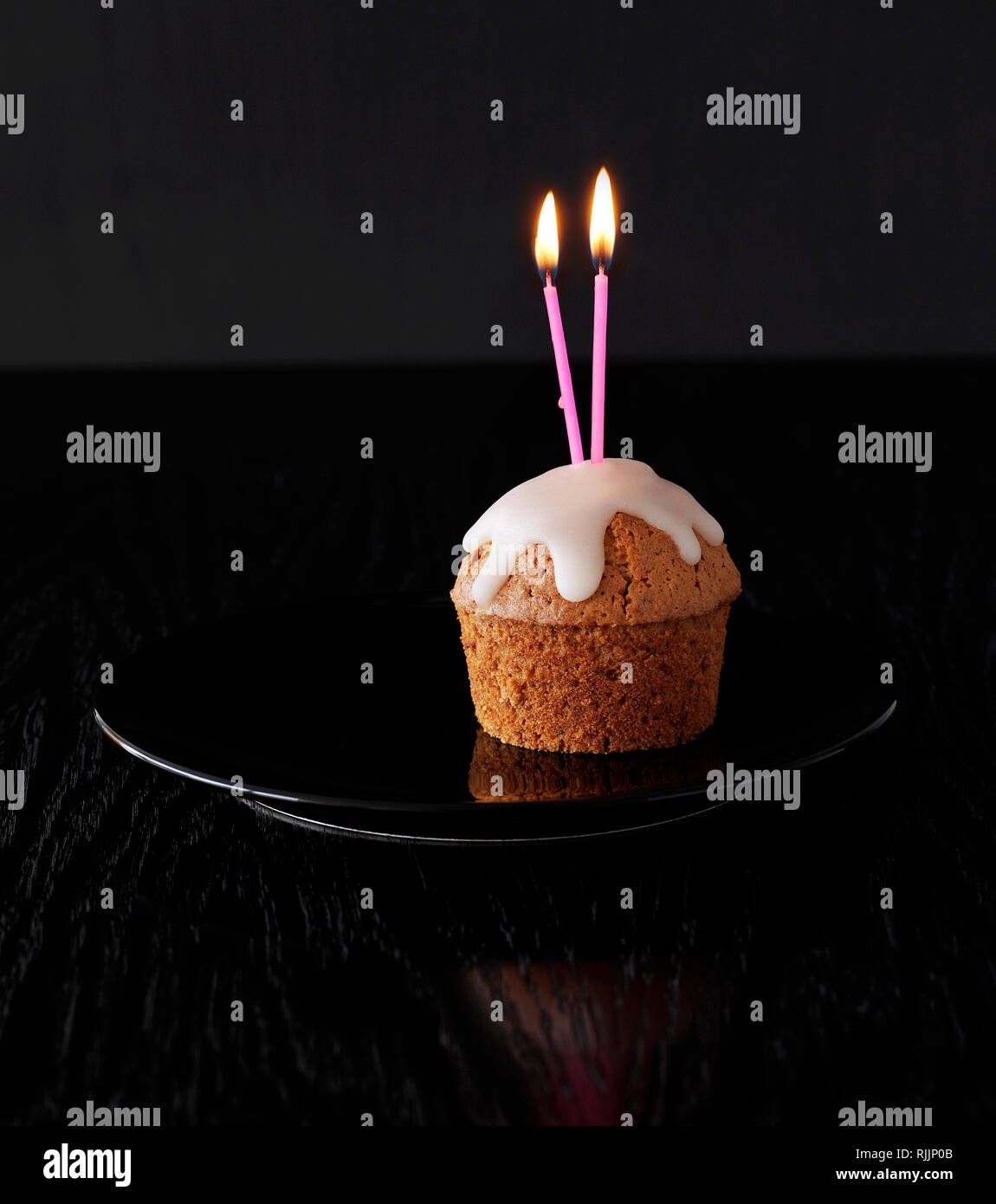Sensational Small Cute Birthday Cake Stock Photo 235210987 Alamy Funny Birthday Cards Online Aboleapandamsfinfo