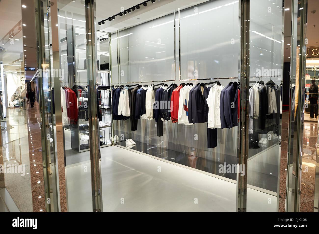 Dior Store Shopping Interior Stock Photos   Dior Store Shopping ... f87e4011abb