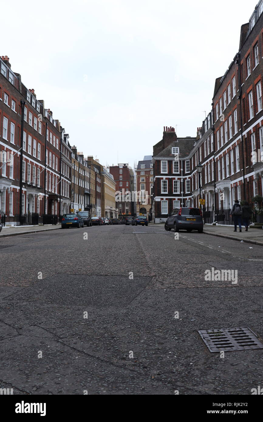 Street in London - Stock Image