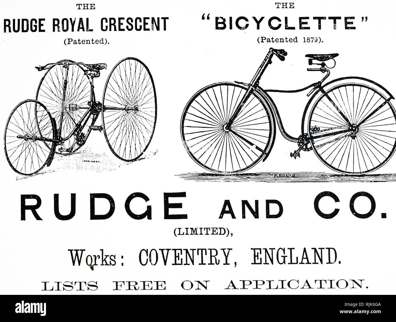 Rudge cykel dating