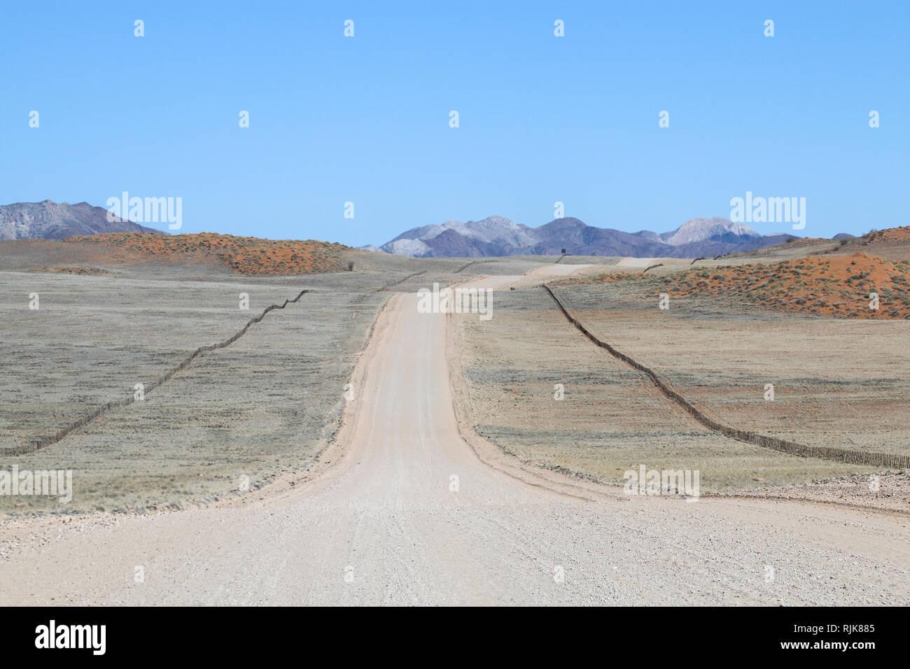Highway im Naukluft Nationalpark Stock Photo