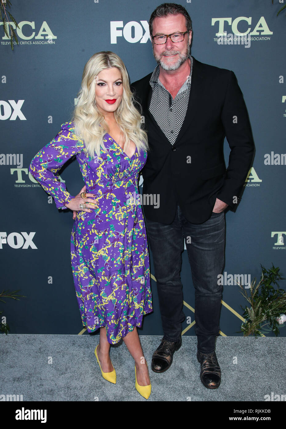 Tori Spelling And Her Husband Stock s & Tori Spelling And Her