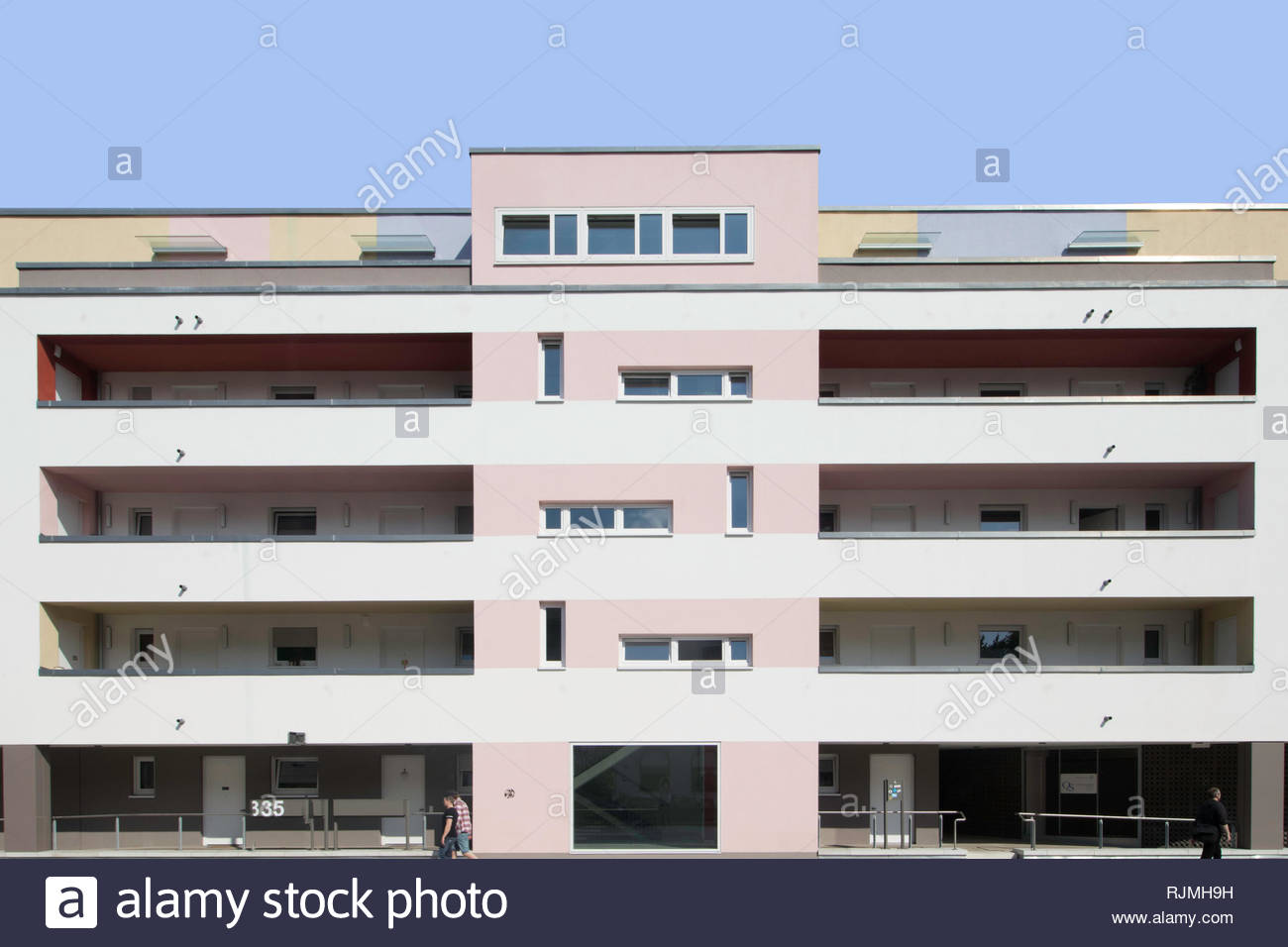 Appartments in Münster - Stock Image