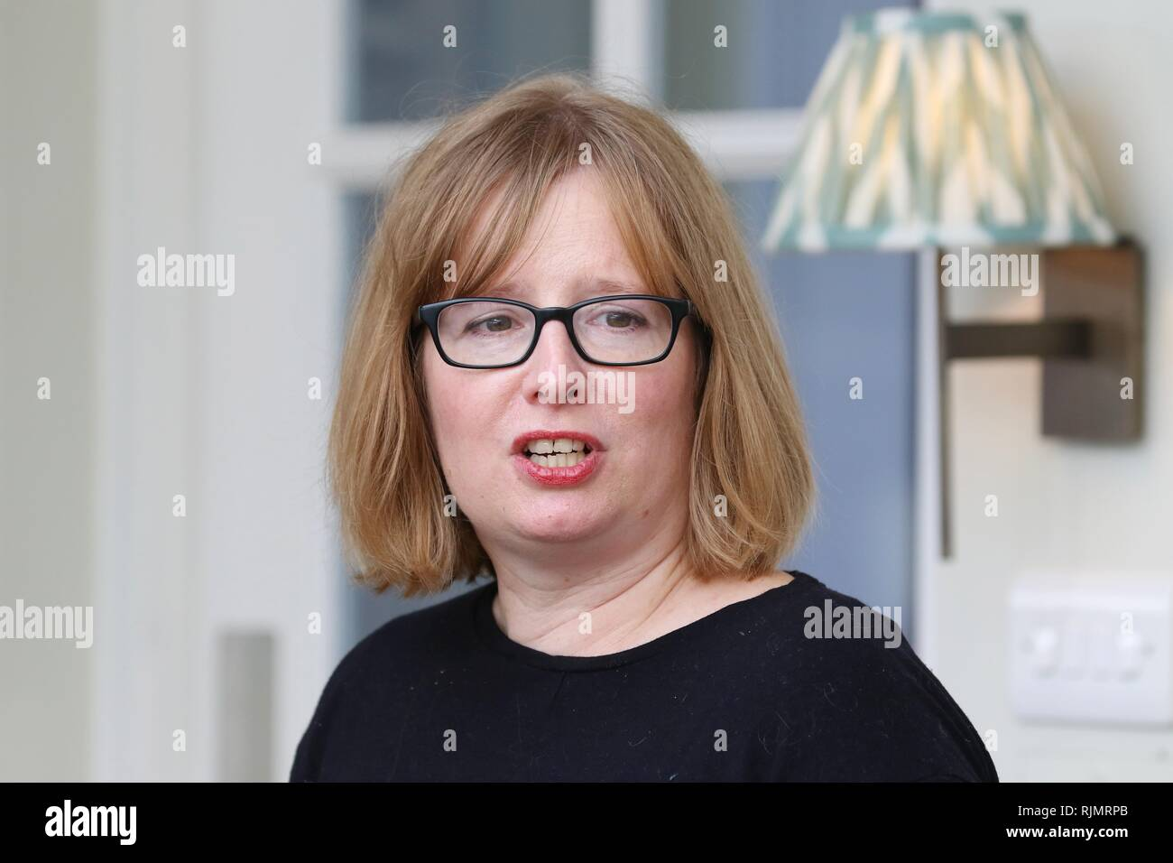 Lucy Mangan, the British journalist, writer, and author, TV critic for The Guardian. Photo by Antony Thompson/TWM - Stock Image