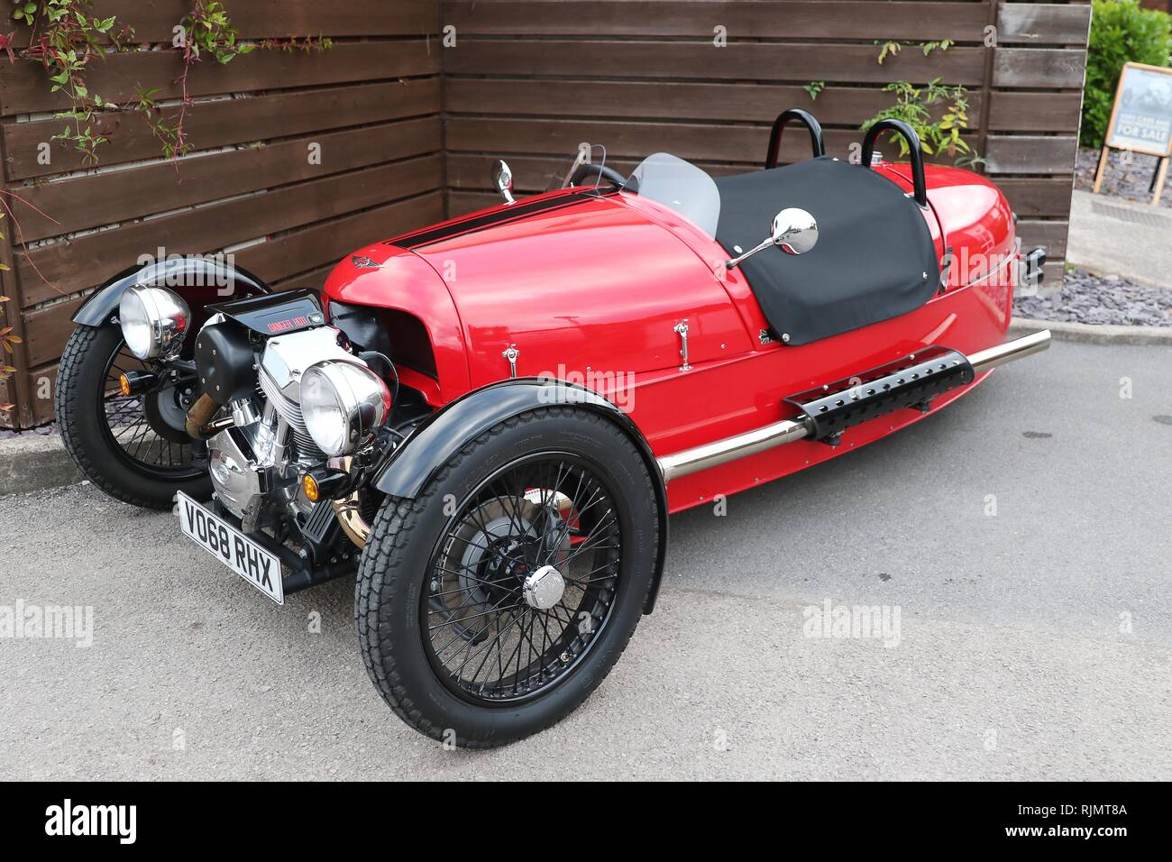Morgan Sports Cars Ltd, Malvern, Worcestershire  Picture by Antony Thompson - Thousand Word Media, NO SALES, NO SYNDICATION. Contact for more informat - Stock Image