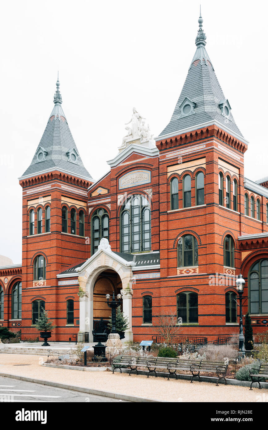 The Smithsonian Arts and Industries Building, at the National Mall, in Washington, DC - Stock Image