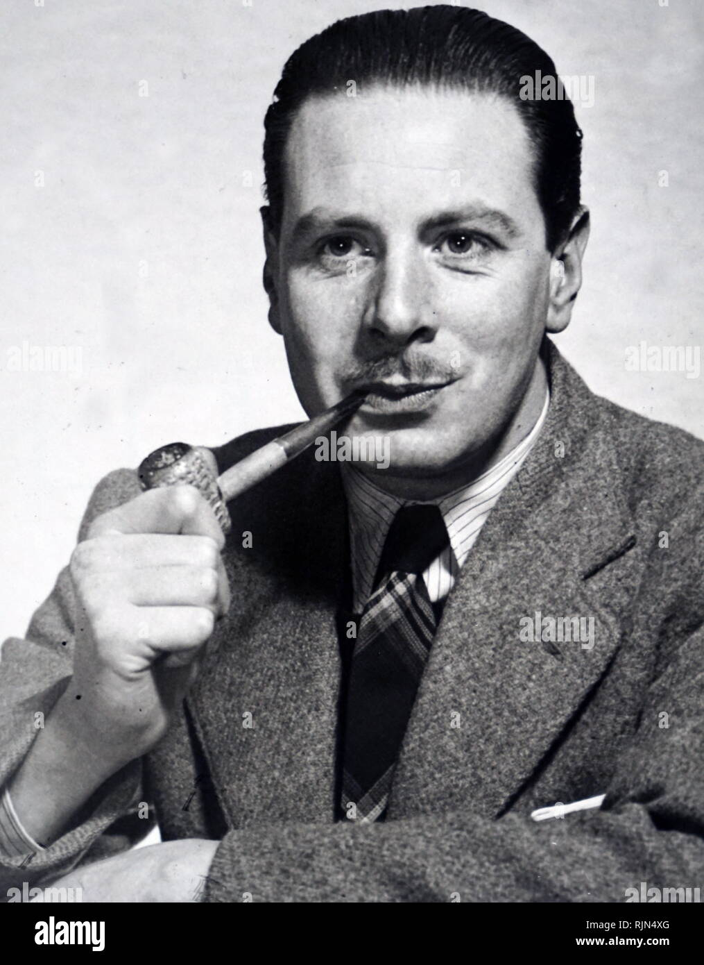 Henry Patterson (b. 1929), British spy and thriller novelist with the pen name Jack Higgins - Stock Image