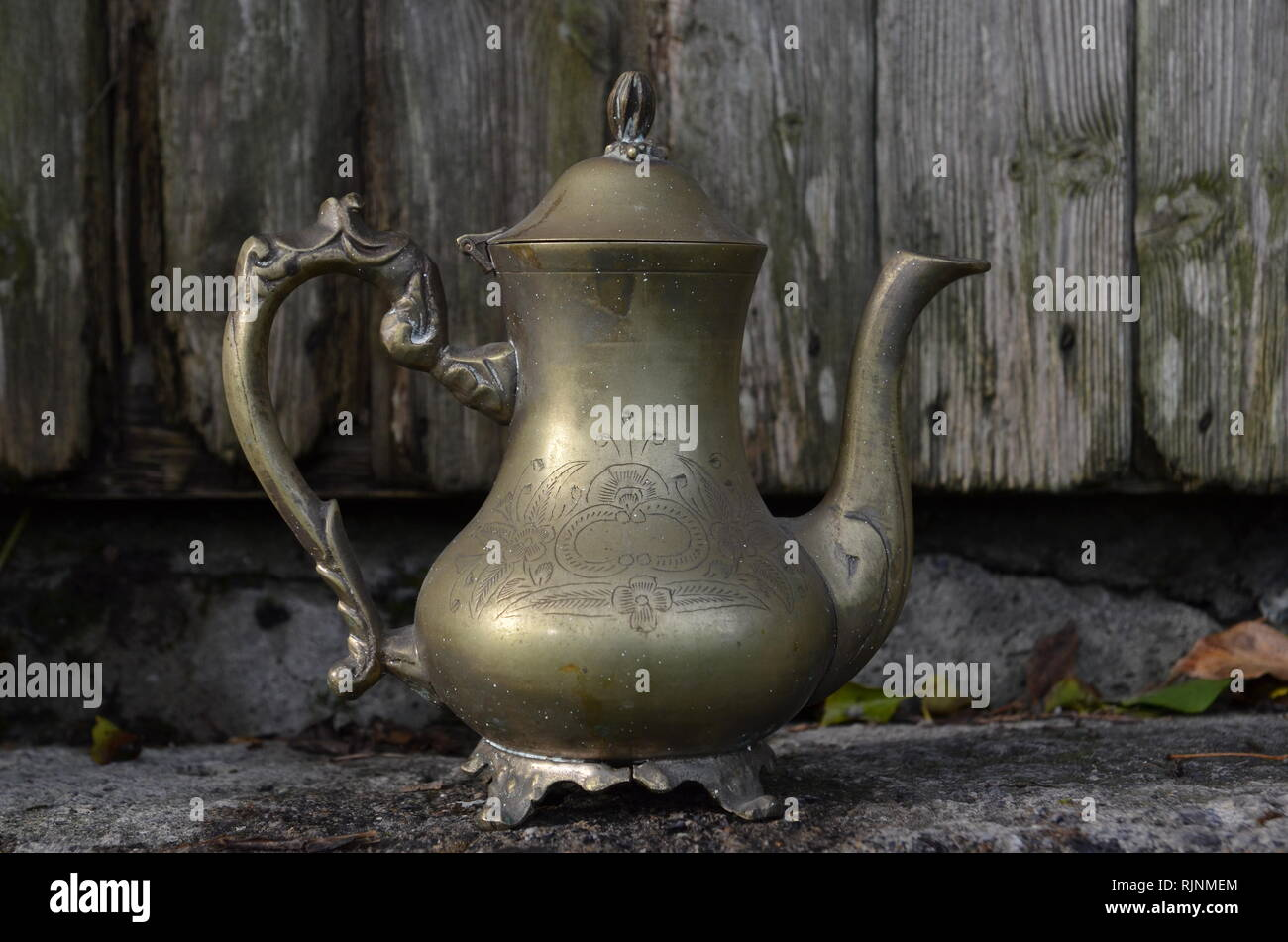 alladyn,lamp,kettle - Stock Image